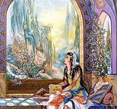 تصویر از عشق ازی و جوانی – عشقبازی و جـوانـیّ و شــراب لعـل فام – غزل ۲۹۶ – ۴۰۵